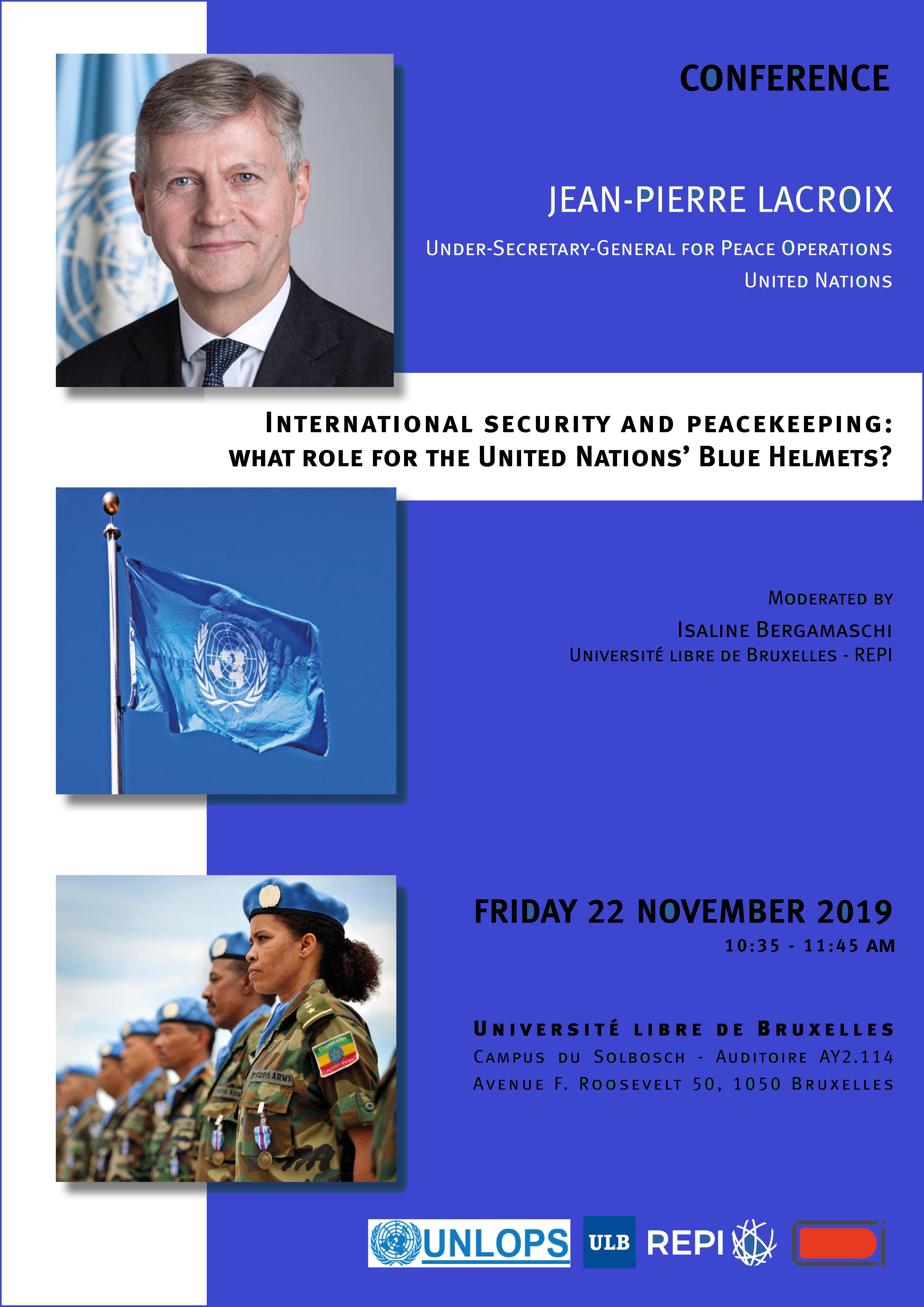 USG Lacroix - Conference 22 November - ULB
