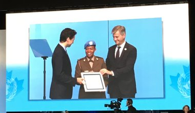 Woman peacekeeper wins the United Nations Military Gender Advocate of the Year award