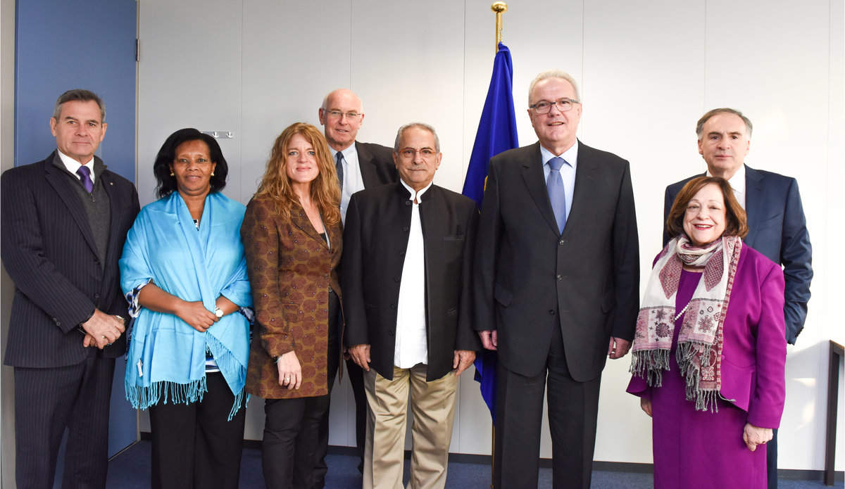 Visit of the High-Level Independent Panel on UN Peace Operations in Brussels